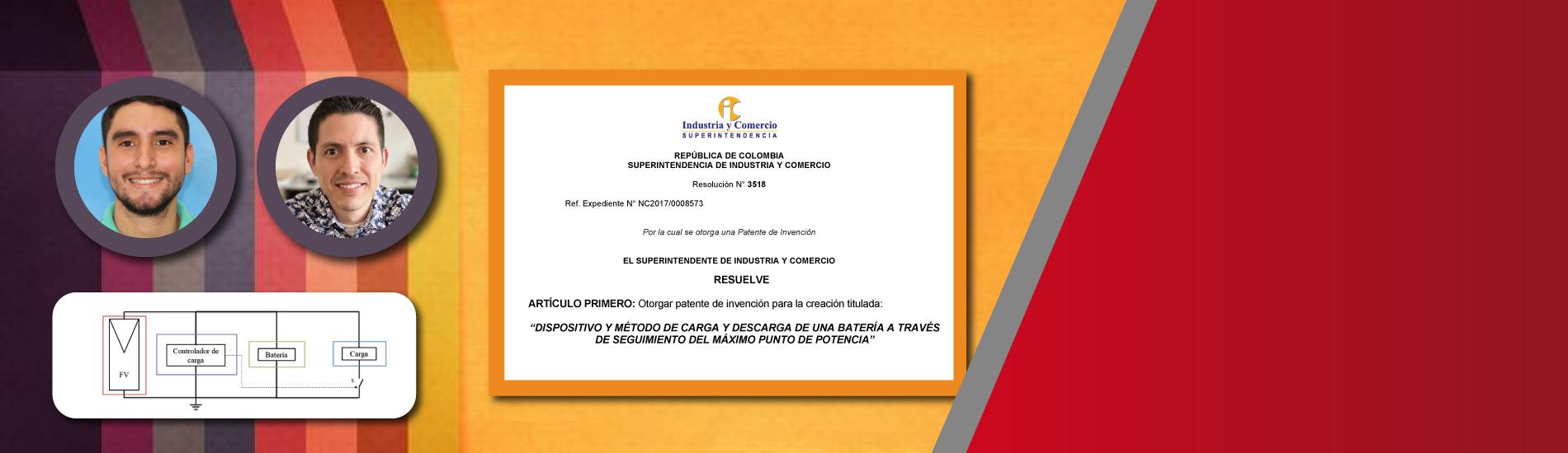 Superintendencia de Industria y Comercio otorga a la UFPS octava patente de invención