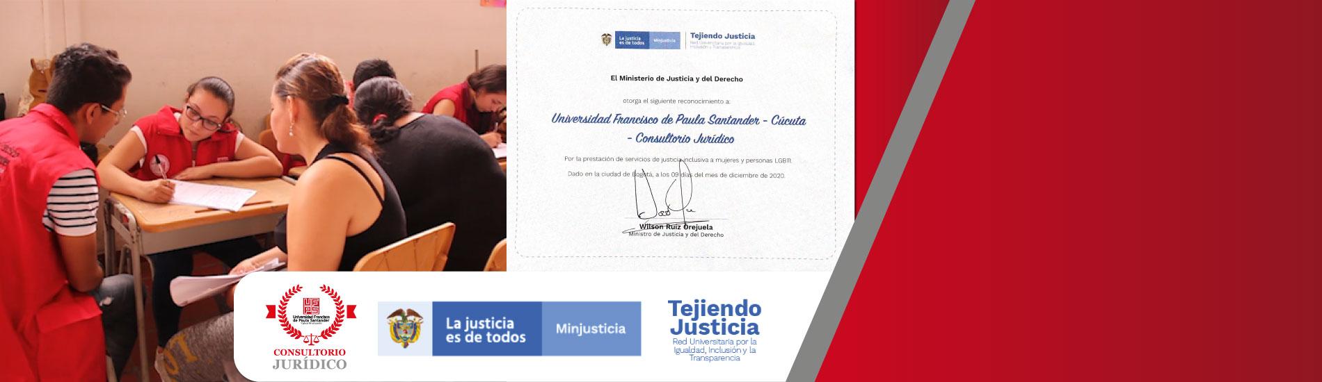 Consultorio Jurídico UFPS obtiene certificación como consultorio inclusivo en género y discapacidad